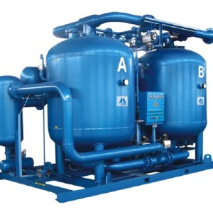 SHANLI stable-performance Compression Heat Purge Desiccant Air Dryer with air comsumption