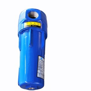 High Flow Compressed Air Line Filter Seperator DN400 connection diameter