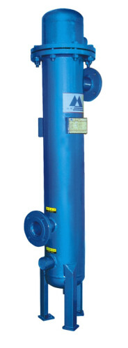 Air compressor aftercooler manufactured by Chinese Hangzhou Shanli Purify Equipemnt Corporation