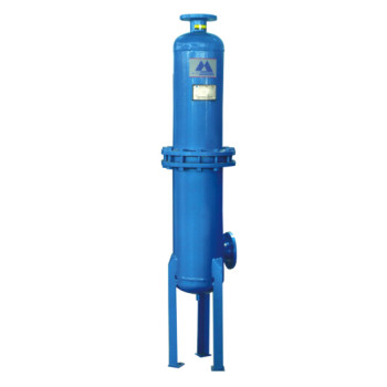 Dust oil removal compressed air filter