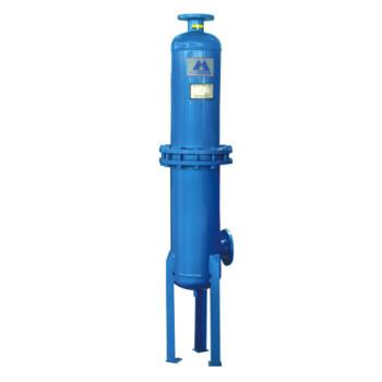 Piston air compressor -high efficient compressed oil remover