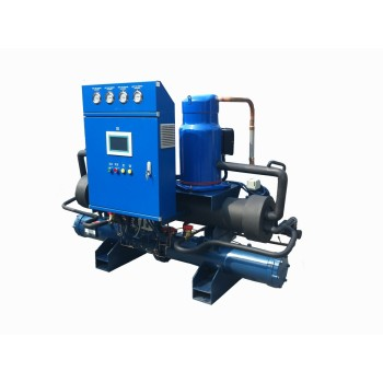 Shanli Flooded Type Low temperature industrial water chillers (-15 Deg C)