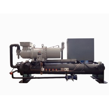 Screw Type Industrial Water Cooled Water Chiller ( -15 Deg C)