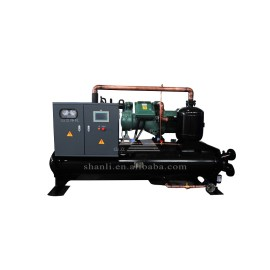 Industrial flooded water chiller with CE certificate (Single Compressor/ 7 Deg C)