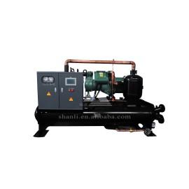 High efficiency flooded screw style water chiller (Single Compressor/ 7 Deg C)