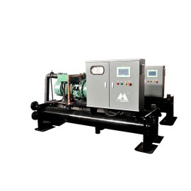 flooded evaporator type air cooled water chiller