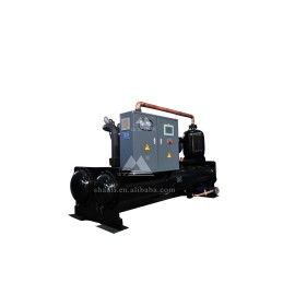 Flooded type water cooled chillers (R22 and R134a) (Single Compressor/ 7 Deg C)