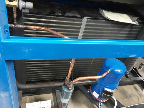 Water-cooled refrigerated air dryer 220v380v voltage and engineering freeze dryer