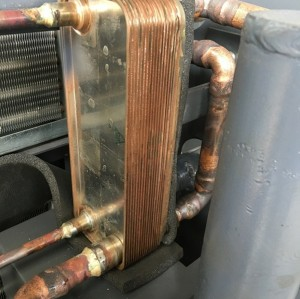 Air-cooled refrigerated curtis air dryer
