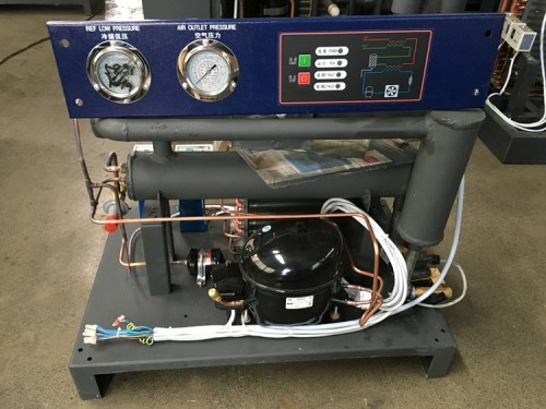 Refrigerated Compressed Waste Heat Adsorption Water Chiller Air Dryer