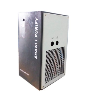 Rotary screw type air compressor refrigerant freezing air Dryer