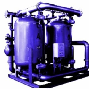 Pneumatic Desiccant Heated Regenerative compressed Air Dryers