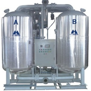 Low Dew Point Heatless Desiccant Air Dryer For Air Compressor