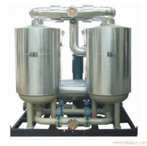 80 m3/min heated desiccant compressed air dryer