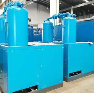 Low Noise Combined Compressed Air Dryer for Palestine