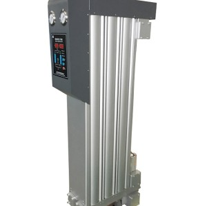 advanced absorption compressed air dryer with energy management system