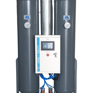 Low dew point micro heat regenerative compressed adsorption air dryer