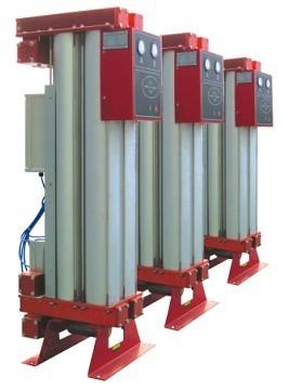 Modules type heatless adsorption air dryer