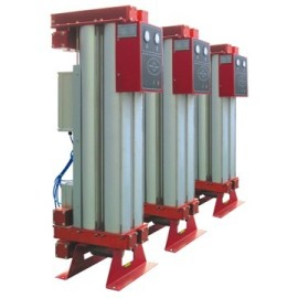 Modules type heatless adsorption air dryer
