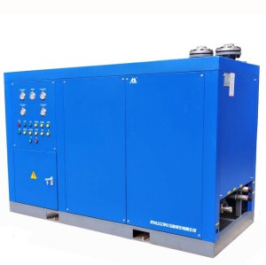 Water freezing refrigerated air dryer to Hanoi