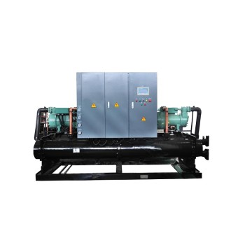 CE ISO Water cooled screw type industrial water chiller