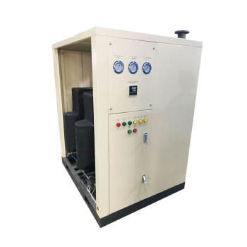Water cooled refrigerated air dryer unit
