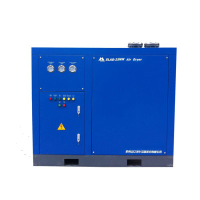 Water-cooled refrigerated air dryer