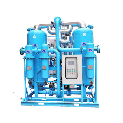 CE and ISO heated adsorption air dryer supplier