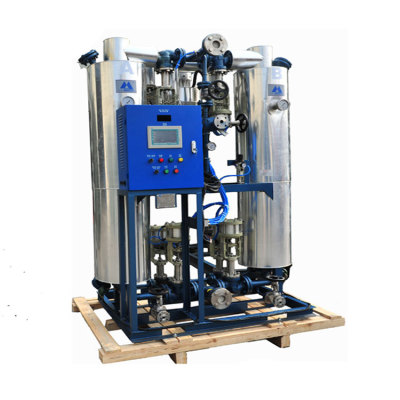 Heated regeneration adsorption air dryer