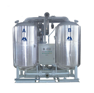 Blower heat adsorption air dryer (Zero Purge)