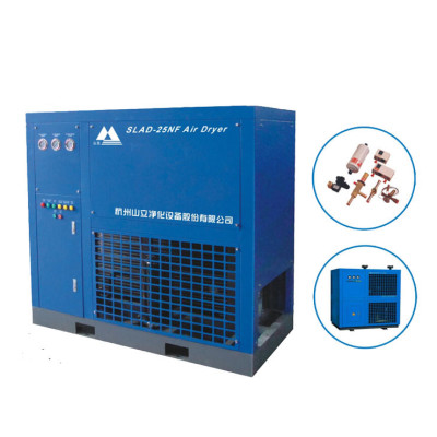 Air-cooled refrigerated auto air dryer