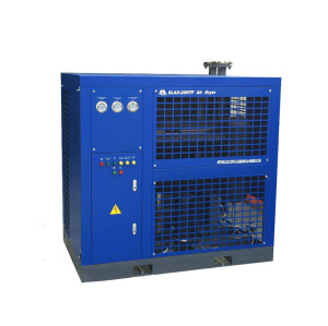 refrigerated air dryer operation
