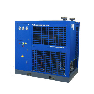 Air-cooled refrigerated ir air dryer