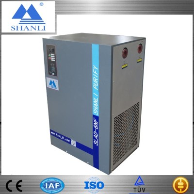 Factory direct supply CE ISO UL TUV 216m3/h refrigerated air dryer