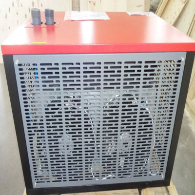 Air freezing type dryer for screw compressor