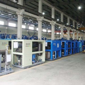 Factory direct CE ISO UL TUV 150m3/h refrigerated air dryer