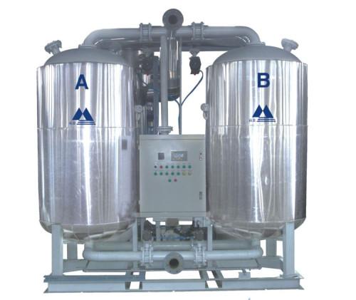 Blower purge adsorption air dryer