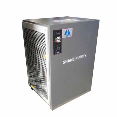 Air-cooled refrigerated infrared dryer
