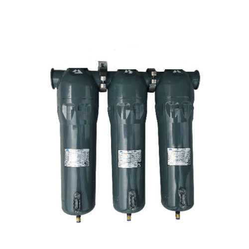 2017 New Design Compressed Air Filter with gauge for air dryer