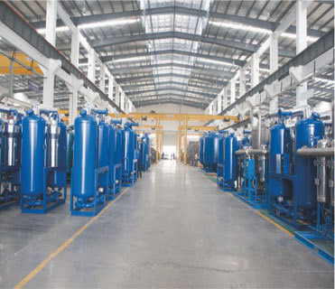CE ISO UL 1.2 m3/min normal inlet air temp refrigerated industrial air dryer for factory