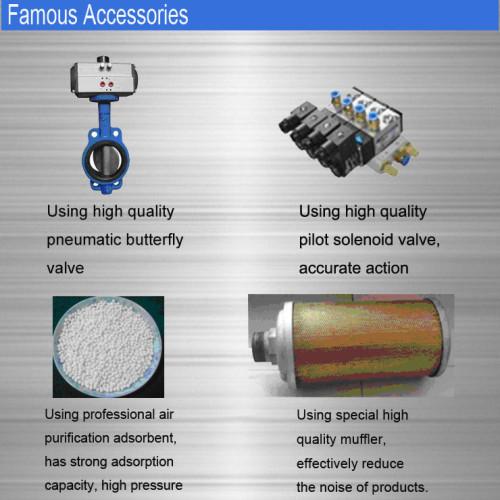 2017 Factory Price Heatless RegenerativeAdsorption and refrigerated CompressedAirDryer