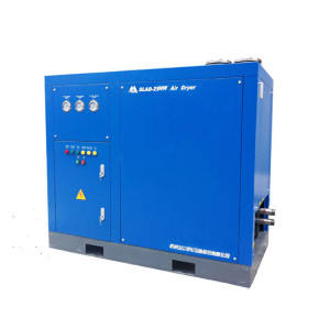 Pressure Dew Point 2-10°C High-inlet temp refrigerated air dryer for food industry