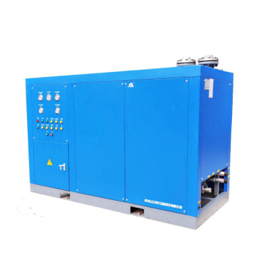 Single compact high-inlet temp refrigerated air dryer
