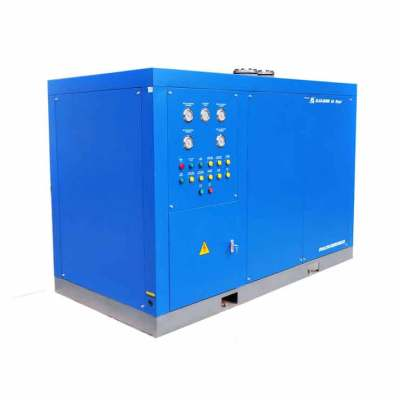 Air screw compressor used Water-cooled refrigerated air dryer to Wellington