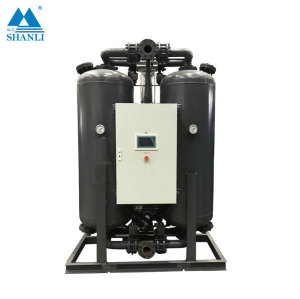 Low Dew Point desiccant Compressed heated regeneration Air Dryer