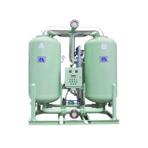 100 hp desiccant air dryer shell tube heat exchanger air dryer