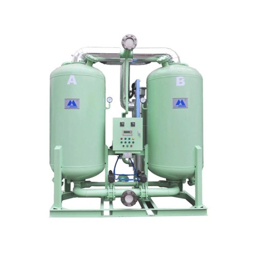 100 hp desiccant air dryer shell tube heat exchanger air dryer