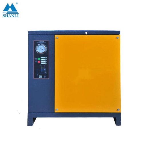 Shanli new industrial hot air compressor aftercooler system refrigerated air dryer