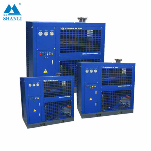 Shanli new product 8m3/min Refrigerated deltech compressed air dryer