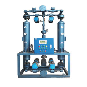 SLAD serirs heatless desiccant regeneration air dryer for compressed air
